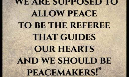 "Why did the angels sing ""peace on earth?"" It's been 2000 years and there still isn't peace!"