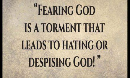 Why does it seem the whole world hates God?