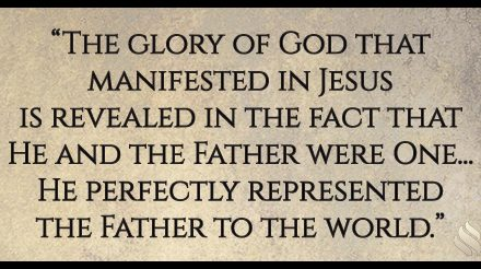 You Have the Glory of God