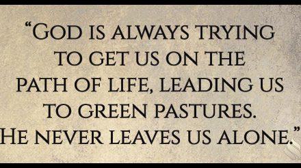Does God chasten us?