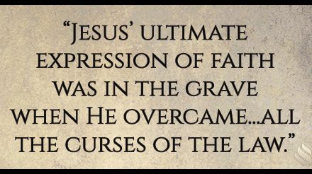 What is the Bible talking about when it refers to the faith of Jesus?