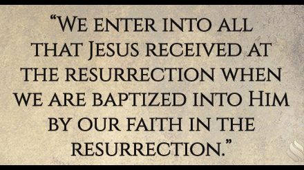 How does Jesus' resurrection 2000 years ago benefit me?