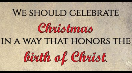 Should we even celebrate Christmas?