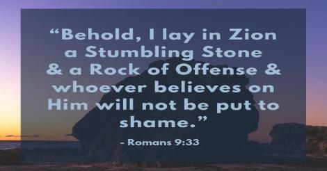 No More Stumbling